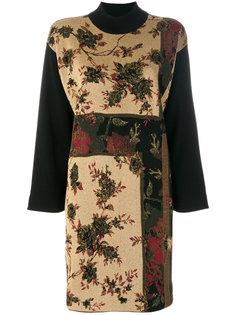 платье шифт с цветочным узором  Antonio Marras