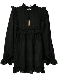 frill bib blouse Zimmermann