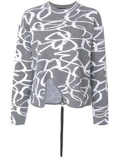 трикотажный свитер с вышивкой Proenza Schouler