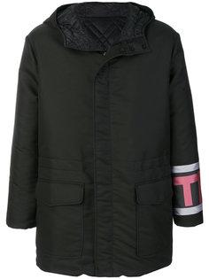 куртка с логотипом Fendi