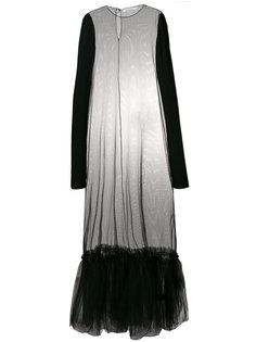 полупрозрачное платье  Nostra Santissima