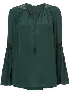 bell sleeve blouse Vionnet