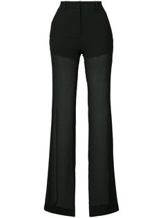 semi-sheer trousers Vionnet