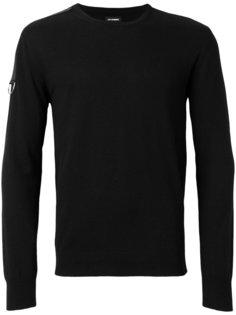 свитер с ремешком на рукаве Les Hommes