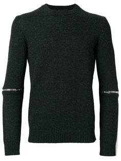 свитер с молниями Les Hommes