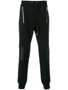 спортивные брюки с молниями Les Hommes