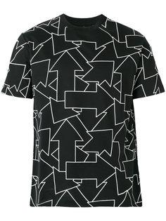 футболка с принтом стрел Les Hommes