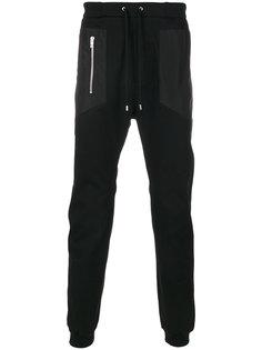 спортивные брюки с накладными карманами Les Hommes Urban