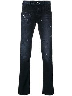 джинсы с пятнистым принтом Les Hommes Urban