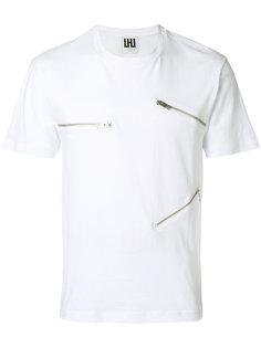 футболка с молниями Les Hommes Urban
