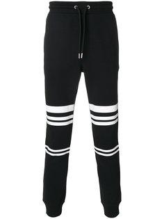 спортивные брюки с полосатым принтом Les Hommes Urban