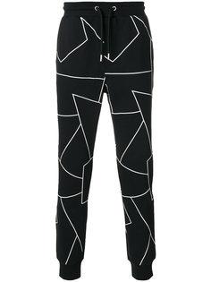 спортивные брюки с графическим принтом Les Hommes Urban