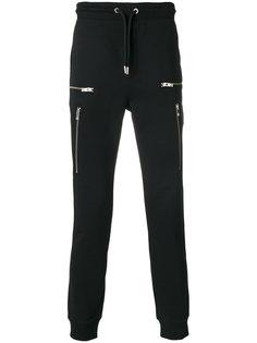 спортивные брюки с молниями Les Hommes Urban