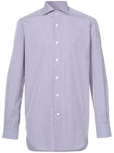 рубашка в полоску Kiton