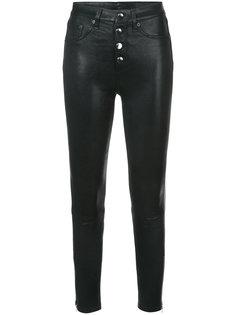 кожаные джинсы Rag & Bone