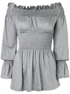 блузка с открытыми плечами G.V.G.V.