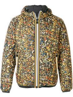 двусторонняя дутая куртка  Dsquared2