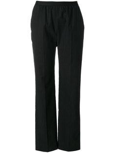 прямые брюки в тонкую полоску Maison Margiela