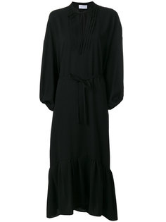 платье с оборками Christian Wijnants