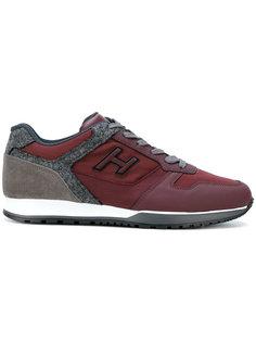 кроссовки с контрастными панелями Hogan