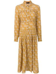 платье-рубашка с цветочным принтом  Joseph