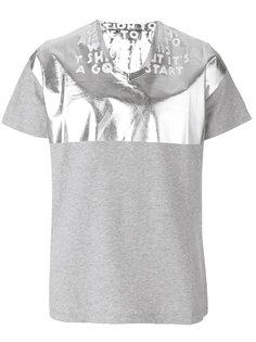 футболка с принтом-слоганом Maison Margiela