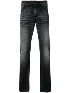 выцветшие джинсы кроя слим Saint Laurent