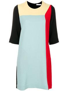 платье колор блок  Peter Jensen