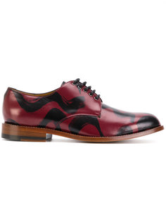 ботинки Дерби с принтом мазков кисти Vivienne Westwood Man
