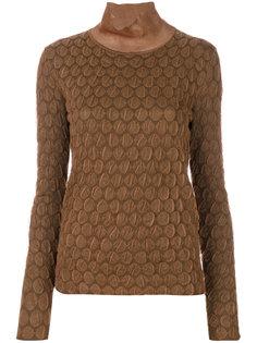 фактурный свитер  Marni
