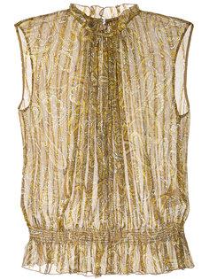 блузка без рукавов с принтом пейсли  Ballsey