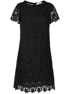 кружевное платье с вышивкой  Blugirl