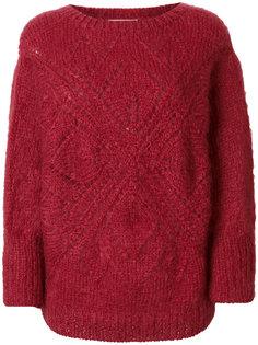 ажурный свитер Mes Demoiselles