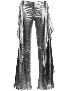 брюки металлик Relief Paula Knorr