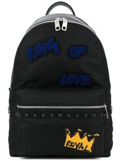 рюкзак с заплатками Vulcano  Dolce & Gabbana