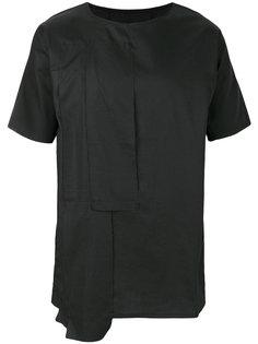 футболка с неравномерным подолом Alchemy
