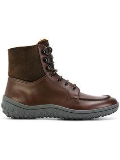 ботинки на овчине Car Shoe
