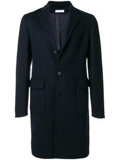 классическое однобортное пальто Boglioli