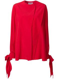 блузка с завязками Givenchy