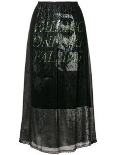 струящаяся юбка  McQ Alexander McQueen