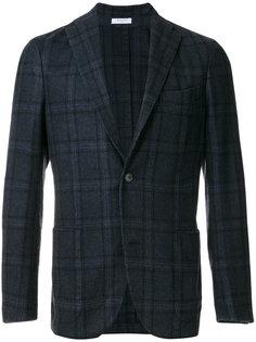 клетчатый классический пиджак Boglioli