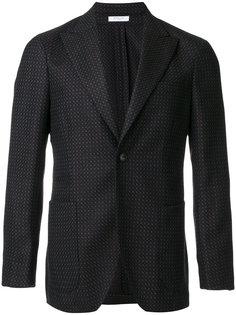 классический пиджак с узором Boglioli
