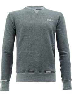 свитер с принтом 1971 Saint Laurent