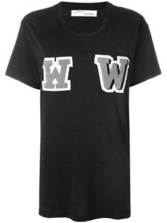футболка с декоративными буквами Off-White