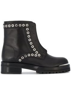 ботинки на молнии с люверсами Alexander McQueen