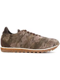 камуфляжные кроссовки Alberto Fasciani
