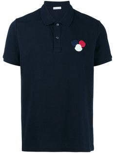 футболка-поло с логотипом Moncler