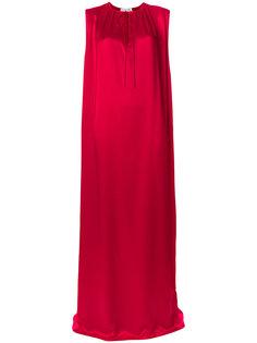 свободное длинное платье Balenciaga