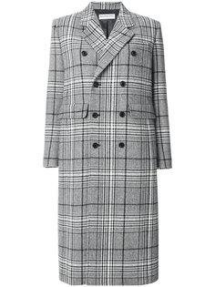 классическое двубортное пальто Balenciaga