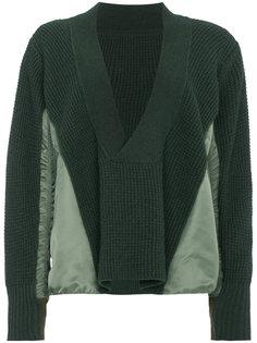 трикотажный свитер MA 1 Sacai